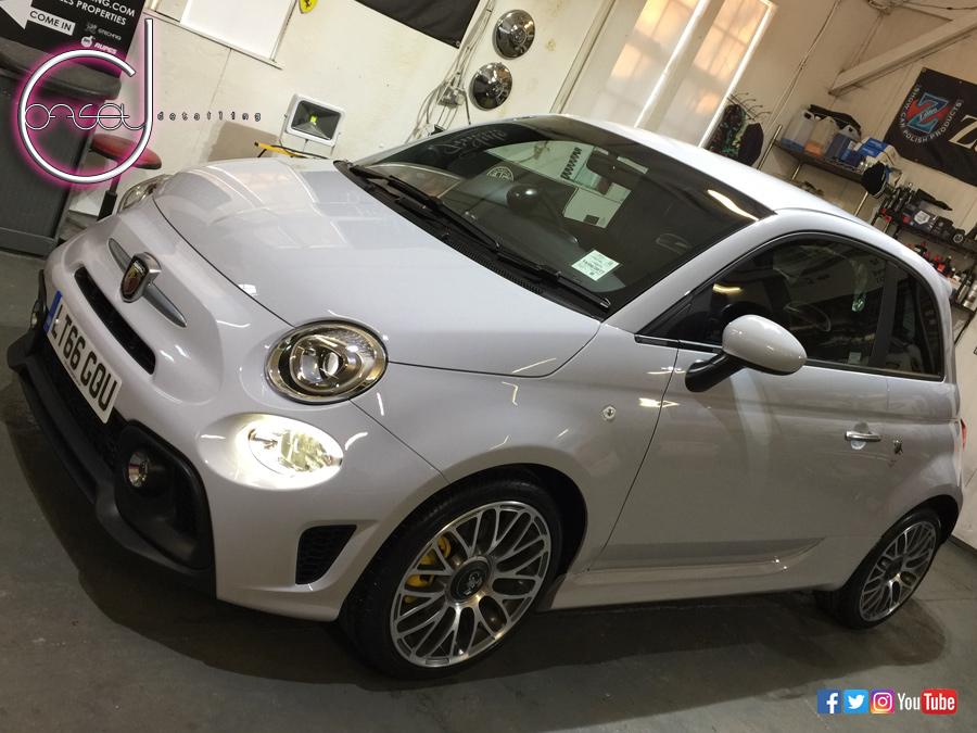 brand new fiat 500 595 abarth detail offset detailing. Black Bedroom Furniture Sets. Home Design Ideas