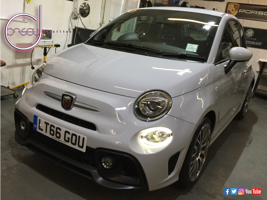 Brand New Fiat 500 595 Abarth Detail Offset Detailing